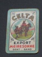 Oude Speelkaart CELTA Brouwerij MEIRESONNE - GENT GAND - Otros