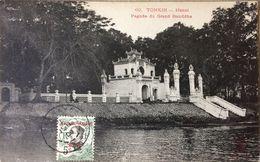 TONKIN HANOI Pagode Du Grand Bouddha (19) - Vietnam
