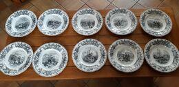 ASSIETTES  (Lot De 10)  Siège De Sébastopol - Plates