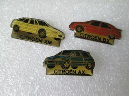 PIN'S   LOT 3 CITROEN - Citroën