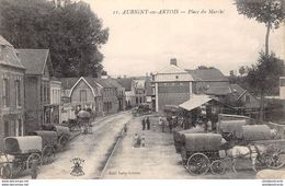 CPA 62 - AUBIGNY En ARTOIS, Place Du Marche - Aubigny En Artois