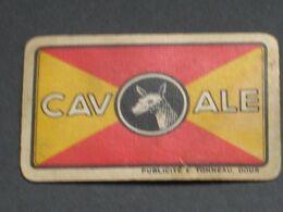 Oude Speelkaart CAV ALE Brouwerij Brassserie CAVENAILE - DOUR - Otros