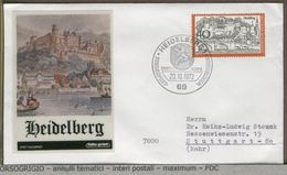 GERMANIA - FDC 1972 - HEIDELBERG - BLASONE - STEMMA  LEONE LION - Covers