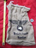 Reichsbank Berlin -sac Toile De Jute (1) - 1939-45
