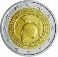 Griekenland  2020   2 Euro Commemo  2000 Ste Verjaardag Van De Slag Van Thermopylae   UNC Uit De Rol  UNC Du Rouleaux !! - Grèce