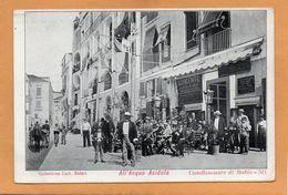 Castellammare Di Stabia Italy 1900 Postcard - Castellammare Di Stabia