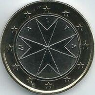 Malta  2020     1 Euro  Uit De BU - Coffret    NIEUW !!! Met Muntmeesterteken Monnaie De Paris Letter F  !!! - Malte
