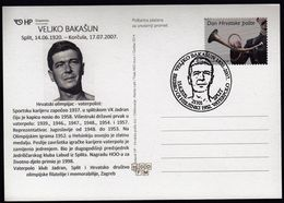 Croatia Split 2020 / Veljko Bakasun, Waterpolo Player / Olympic Games Helsinki 1952 - Gold Medal Winner (Yugoslavia) - Summer 1952: Helsinki