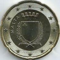 Malta  2020  20 Cent  Uit De BU - Coffret    NIEUW !!! Met Muntmeesterteken Monnaie De Paris Letter F  !!! - Malte