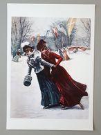Affiche De Reproduction De Peinture : Patinage De Femmes En 1903 & - Autres