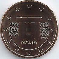 Malta  2020  5 Cent  Uit De BU - Coffret    NIEUW !!! Met Muntmeesterteken Monnaie De Paris Letter F  !!! - Malta