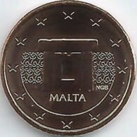Malta  2020  2 Cent  Uit De BU - Coffret    NIEUW !!! Met Muntmeesterteken Monnaie De Paris Letter F  !!! - Malte