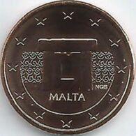 Malta  2020  1 Cent  Uit De BU - Coffret    NIEUW !!! Met Muntmeesterteken Monnaie De Paris Letter F  !!! - Malte
