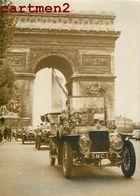 PARIS 50e SALON AUTOMOBILE DEFILE DE VIEUX TACOTS VETERAN'S CAR CLUB VOITURE CAR Kraftfahrzeug Automóvil Automobilistico - KFZ