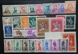 BELGIE  1942   Nr. 593-600 / 601 / 602 / 603-12 / 613-14 / 615 - 622    Postfris **   CW 37,50 - Belgium