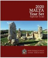 Malta  2020  BU Set Met 9 Munten  Set Van 1ct Tot 2euro + Commemo 'Ta' Skorba Met MMT Poinçon  'F' Zeldzaam - Rare !!!! - Malta