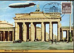 56296 Germany Berlin, Maximum 1982 Berlin Brandenburger Tor,   10pf. - [5] Berlijn