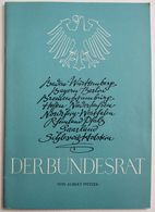 LIVRET 1961 DER BUNDESRAT VON ALBERT PFITZER - Libri, Riviste, Fumetti