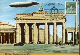 56297 Germany Berlin, Maximum 1982 Berlin Brandenburger Tor,   20pf. - [5] Berlijn