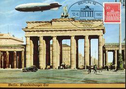 56298 Germany Berlin, Maximum 1982 Berlin Brandenburger Tor,   30pf. - [5] Berlijn