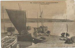 CPA  Nevez Port Manech Retour De Pêche (legere Tache) - Névez