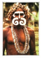 Nouvelle Guinée Guerrier Asmat  Coupeurs De Tête     Années 80s - Papua-Neuguinea