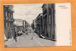 Catania Sicili Italy 1900 Postcard - Catania
