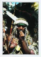 Nouvelle Guinée Jeune Femme Papoue Des Montagnes   Seins Nus Top Bless      Années 80s - Papua-Neuguinea
