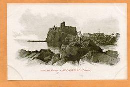 Taormina Sicili Grand Hotel Metropole Italy 1900 Card - Autres Villes
