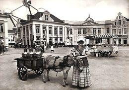 Bruxelles - Expo 1958 - Attelage Ane Laitière  - Belgique Joyeuse Atomium - Weltausstellungen
