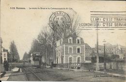 35 RENNES - La Route De Brest Et La Communauté De St-Cyr - Rennes