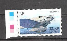 France 2000  YT PA64** Bord De Feuille Prix Coutant Couzinet 70  Avion Transport - 1960-.... Mint/hinged