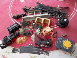 Wagons Et Rails-trains électriques-transfo. ..prix Pour Le Lot ! - Other
