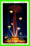 NEW YORK CITY, NY - PARACHUTE JUMP - NEW YORK WORLD'S FAIR 1939 -  TRAVEL IN 1939 - - Expositions