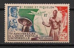 SPM - 1949 - Poste Aérienne PA N°Yv. 21 - UPU - Neuf Luxe ** / MNH / Postfrisch - Ungebraucht