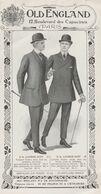 7502 OLD ENGLAND 12 BOULEVARD DES CAPUCINES VETEMENTS POUR HOMMES - 1900 – 1949