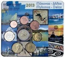 Greece Euro Coins Set 2013 - Grèce