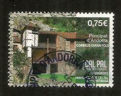CAL PAL.(La Casa Del Pueblo De Pal) Ejemplo Clásico De La Arquitectura Vernácula De Andorra. 2020,cancelado  1ra Calidad - Andorra Española