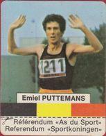 Sticker Autocollant Aufkleber Emiel Miel Puttemans Vossem Coureur De Fond Athlétisme - Aufkleber