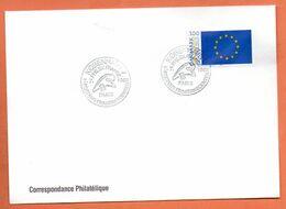 DANEMARK  PHILEXFRANCE  1989 Lettre Entière N° RS 93 - Briefe U. Dokumente