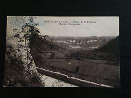 39 - CLAIRVAUX - Vallée De La Frasnée  Rocher De Gargantua  - 756 - Clairvaux Les Lacs