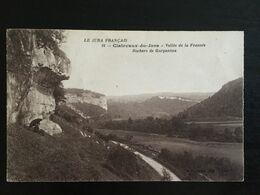 39 - CLAIRVAUX Du Jura - Vallée De La Frasnée - Rochers De Gargantua - 758 - Clairvaux Les Lacs
