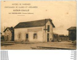 17 LA TREMBLADE. Ostréiculteur Et Magasin D'Huîtres De Marennes Guérin Chaillé 91 Rue Des Bains. Rare Tarifs Verso - La Tremblade