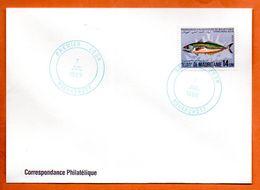 MAURITANIE  RESSOURCES HALIEUTIQUES  1989 Lettre Entière N° RS 109 - Mauritanië (1960-...)