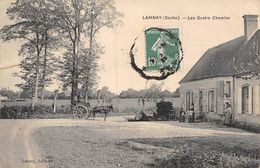 20-9373 : LAMNAY. LES QUATRE CHEMINS - Other Municipalities