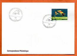 BRESIL   PHILEXFRANCE  1989 Lettre Entière N° RS 117 - Briefe U. Dokumente