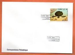 CUBA    PHILEXFRANCE  1989 Lettre Entière N° RS 118 - Briefe U. Dokumente