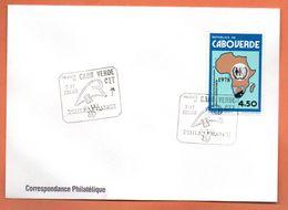 CAP VERT   PHILEXFRANCE  1989 Lettre Entière N° RS 120 - Kap Verde