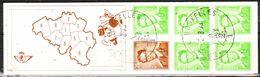 B7  Baudouin Marchand - Bonne Valeur - Oblit. 1er Jour - LOOK!!!! - Booklets 1953-....