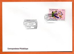NICARAGUA   PHILEXFRANCE  1989 Lettre Entière N° RS 123 - Nicaragua